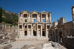 Biblioteca di Celso in Ephesus Immagine Stock
