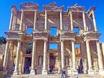 Biblioteca di Ephesus di Celso fotografia stock libera da diritti