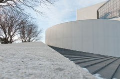 Biblioteca di JFK Fotografia Stock Libera da Diritti