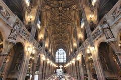 Biblioteca di Manchester Fotografia Stock