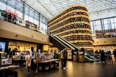 Biblioteca di Starfield nel centro commerciale di COEX immagini stock libere da diritti