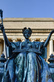 Biblioteca di università di Columbia - New York Fotografie Stock Libere da Diritti