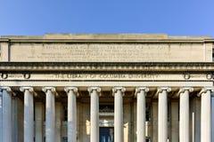 Biblioteca di università di Columbia - New York Immagine Stock Libera da Diritti