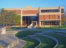 Biblioteca do campus universitário Imagem de Stock