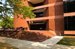 Biblioteca do campus universitário Imagens de Stock