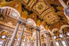 Biblioteca do Congresso Imagem de Stock