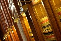 Biblioteca do livro de lei Fotografia de Stock Royalty Free