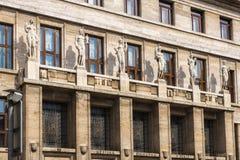 Biblioteca do publik da cidade em Praga Fotos de Stock