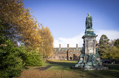Biblioteca do ` s de Gladstone, Hawarden, Gales Imagens de Stock