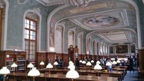 A biblioteca do sorbonne imagens de stock royalty free