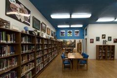Biblioteca do UFO e centro de pesquisa em Roswell fotos de stock