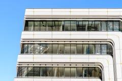 Biblioteca e centro de aprendizagem por Zaha Hadid Of Vienna University da economia e do negócio Imagens de Stock Royalty Free