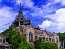 Biblioteca e museu de Mandalay. Foto de Stock
