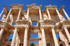 Biblioteca em Ephesus, Turquia de Celsus Fotos de Stock