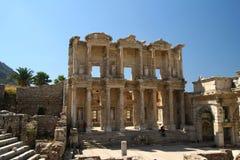 Biblioteca en Efes/Ephesus Fotografía de archivo libre de regalías