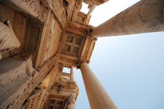 Biblioteca en Ephesus Fotografía de archivo libre de regalías