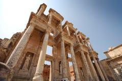 Biblioteca en Ephesus Imágenes de archivo libres de regalías
