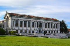 Biblioteca en la Universidad de California Imagenes de archivo