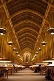 Biblioteca enorme Fotografía de archivo