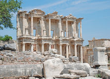 Biblioteca Ephesus Fotografia de Stock Royalty Free