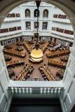Biblioteca estatal de Victoria, Melbourne Australia Fotografía de archivo