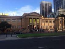 Biblioteca estatal Sydney Imágenes de archivo libres de regalías