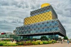Biblioteca HDR de Birmingham Imagem de Stock Royalty Free