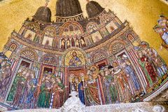 Biblioteca impressionante Nazionale Marciana na praça San Marco em Veneza Imagem de Stock Royalty Free