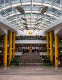 Biblioteca interior Bielorrússia da opinião do revestimento em público Imagem de Stock
