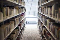 Biblioteca interna dell'istituto universitario di Lasalle delle arti Singapore Fotografie Stock Libere da Diritti