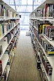 Biblioteca interna dell'istituto universitario di Lasalle delle arti Singapore Fotografia Stock Libera da Diritti