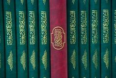 Biblioteca islámica Imagen de archivo libre de regalías