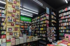 Biblioteca italiana Fotografía de archivo libre de regalías