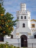 Biblioteca municipal em Tarifa - Andalucia, Espanha Imagens de Stock Royalty Free
