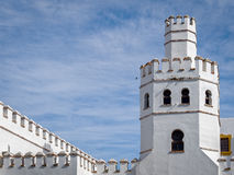 Biblioteca municipal em Tarifa - Andalucia, Espanha Fotos de Stock