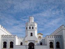 Biblioteca municipal em Tarifa - Andalucia, Espanha Foto de Stock Royalty Free