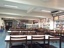 Biblioteca na cidade da universidade de shenzhen Fotografia de Stock Royalty Free