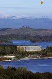 Biblioteca nacional de Australia - Canberra fotografía de archivo libre de regalías