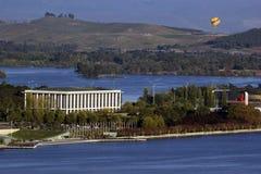 Biblioteca nacional de Australia - Canberra Foto de archivo