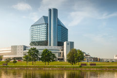 Biblioteca nacional de Belarus Fotos de archivo libres de regalías