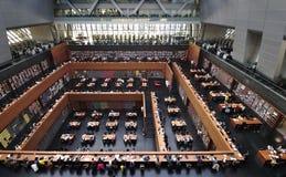 Biblioteca nacional de China em Beijing fotos de stock