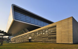 Biblioteca nacional de China en Pekín Imagen de archivo libre de regalías