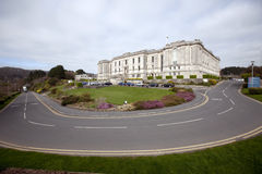 Biblioteca nacional de Gales Fotografia de Stock