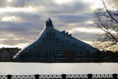 Biblioteca nacional de Letonia, Riga fotografía de archivo libre de regalías