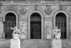Biblioteca Nacional, Madrid Stock Photos