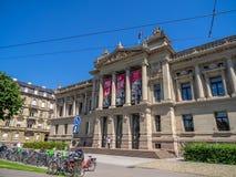 Biblioteca nazionale dell'università di Strasburgo immagine stock libera da diritti