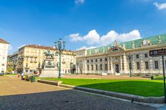 Biblioteca Nazionale National Library rococo style building royalty free stock photos