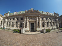 Biblioteca Nazionale in Turin Royalty Free Stock Photography