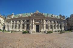 Biblioteca Nazionale in Turin Stock Photo