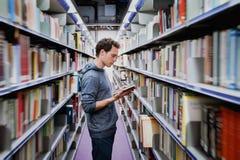 Biblioteca pública Imagens de Stock